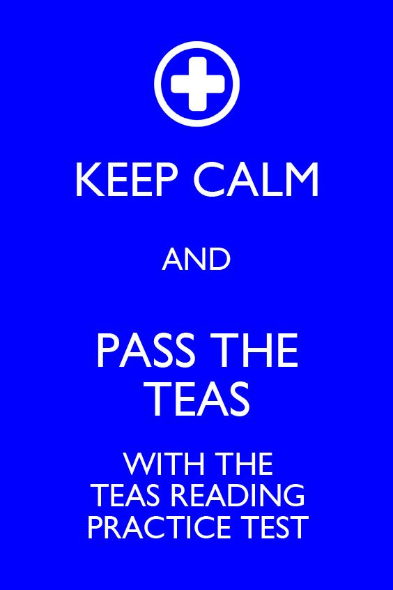 The TEAS Reading practice test is specifically designed to