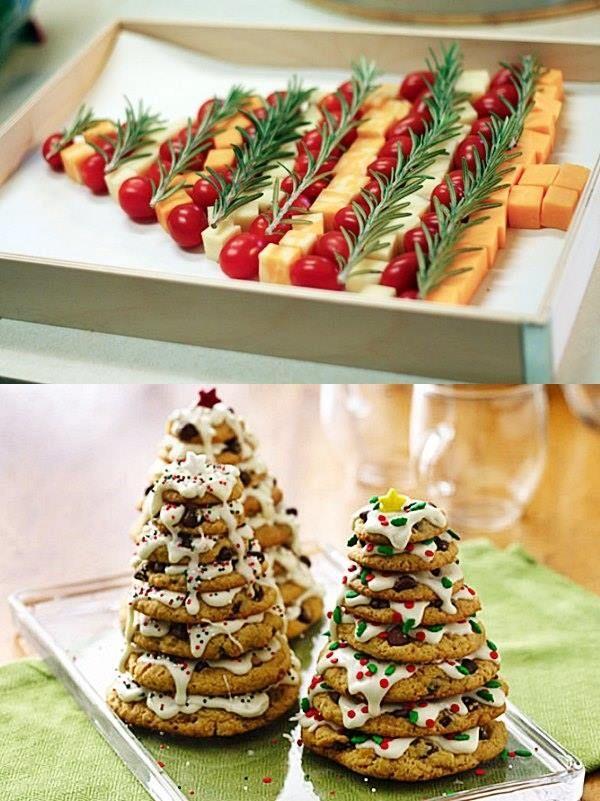 Mais ideias para a decoraç u00e3o da mesa de Natal e Ano Novo Festas Creative christmas food  -> Como Decorar Frutas Para Ano Novo