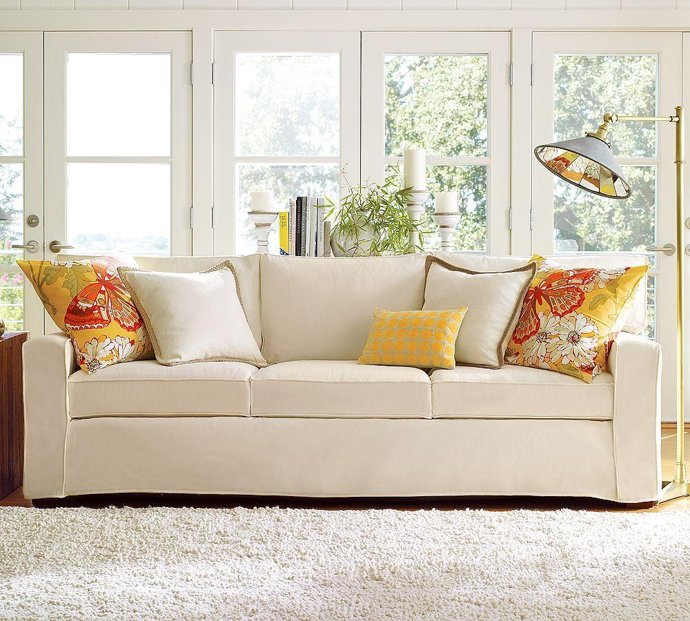 Wohnzimmer Ideen · Töpferei Scheunen Couch · Diy Sofa · Sofa Polsterung ·  Sofa Cushions Coastal   Google Search