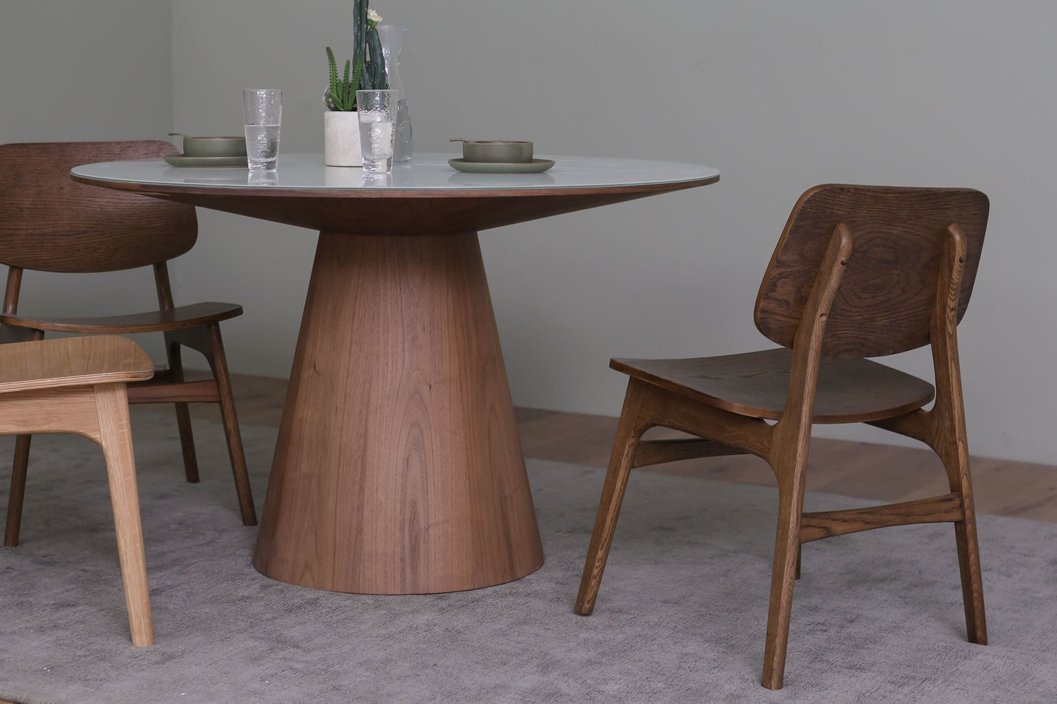 Theo Round Dining Table Castlery Round Dining Room Table Dining Table Round Dining