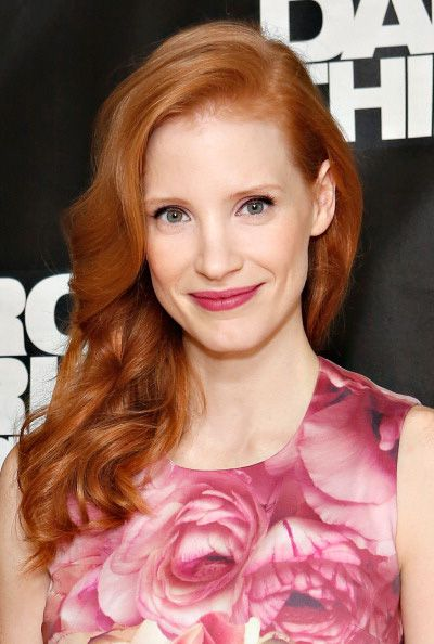 Jessica Chastain Romantic Hairstyles Hair Styles Jessica Chastain