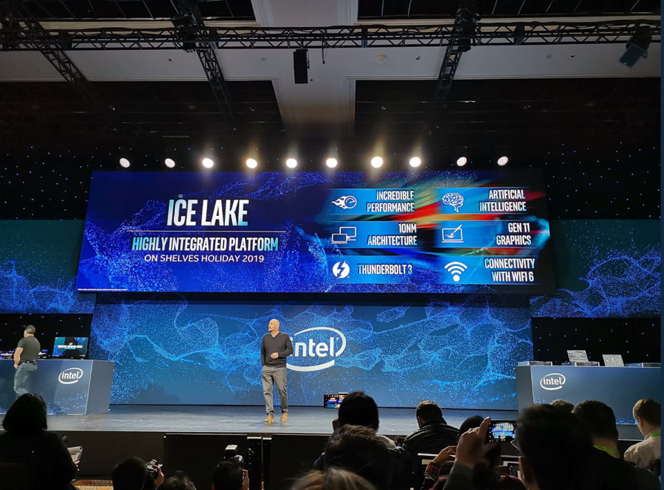 Intel Demonstrates New Technology And Fab Progress At Ces 2019 New Technology Technology Intel