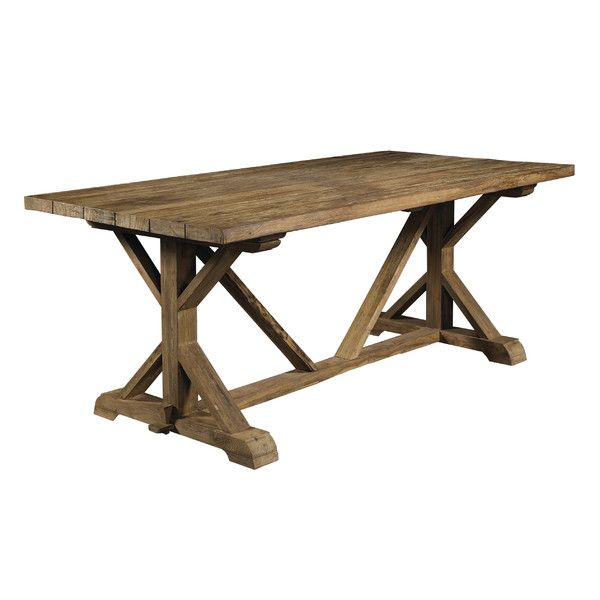 Wilfred Solid Wood Dining Table Dining Table Teak Dining Table