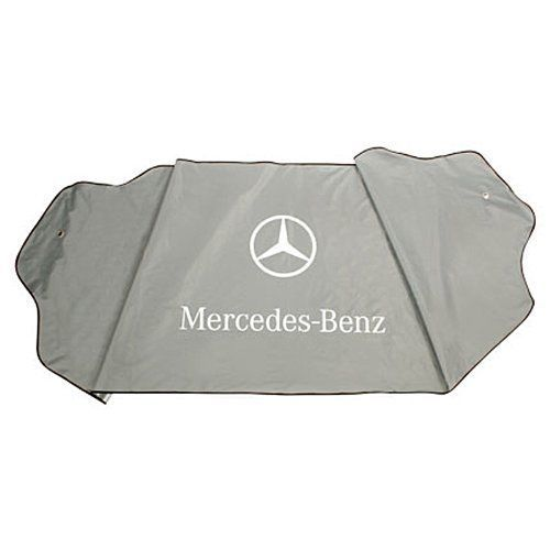New Genuine Mercedes Windshield Sun Shade Cover OEM + 1 Year Warranty 155f55fb222
