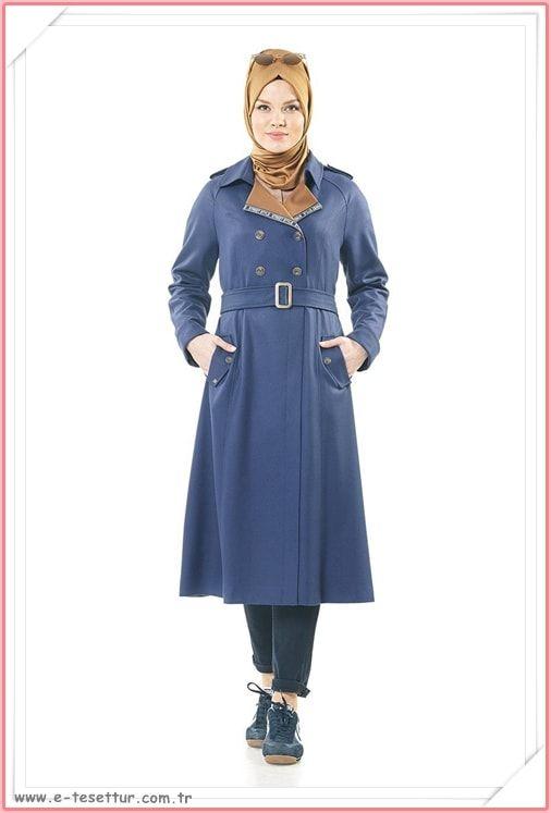 f79e29129afeb Kayra Tesettürlü Kap Modelleri 2018 Lookbook #fashion #style #hijab  #hijabfashion #tesettür