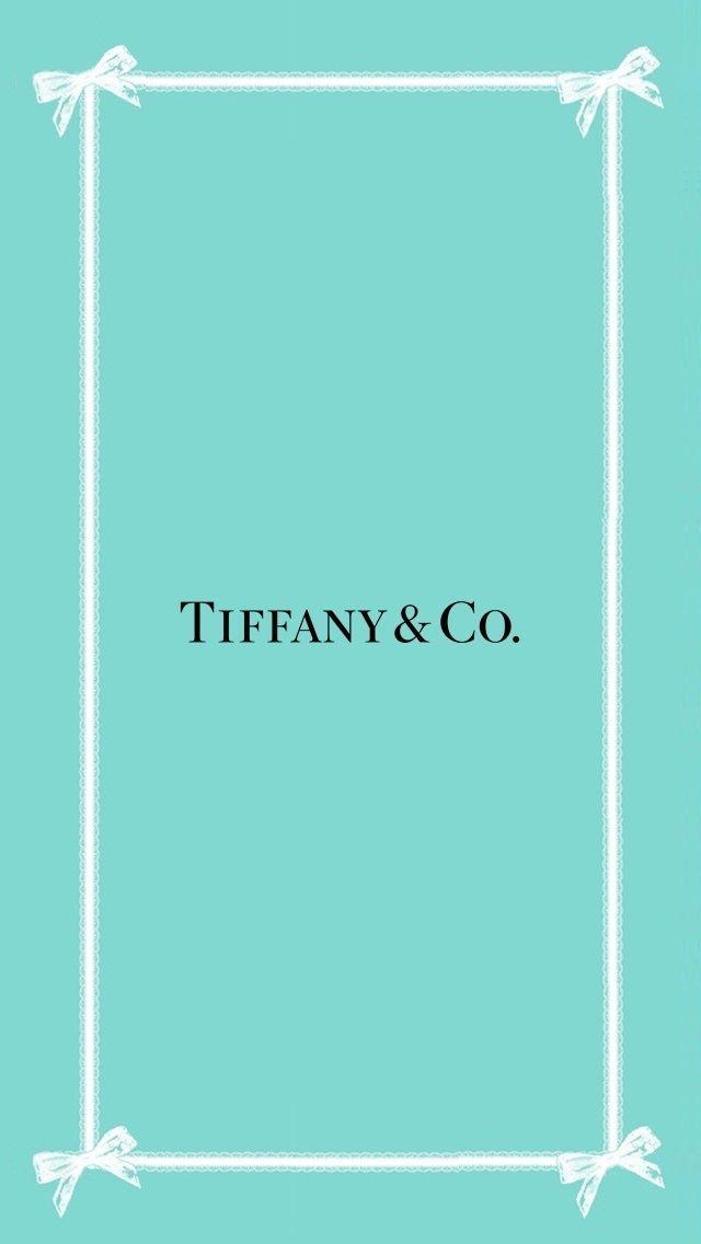 Tiffany Co ティファニー Wallpaper ブランド 壁紙 壁紙 Iphone