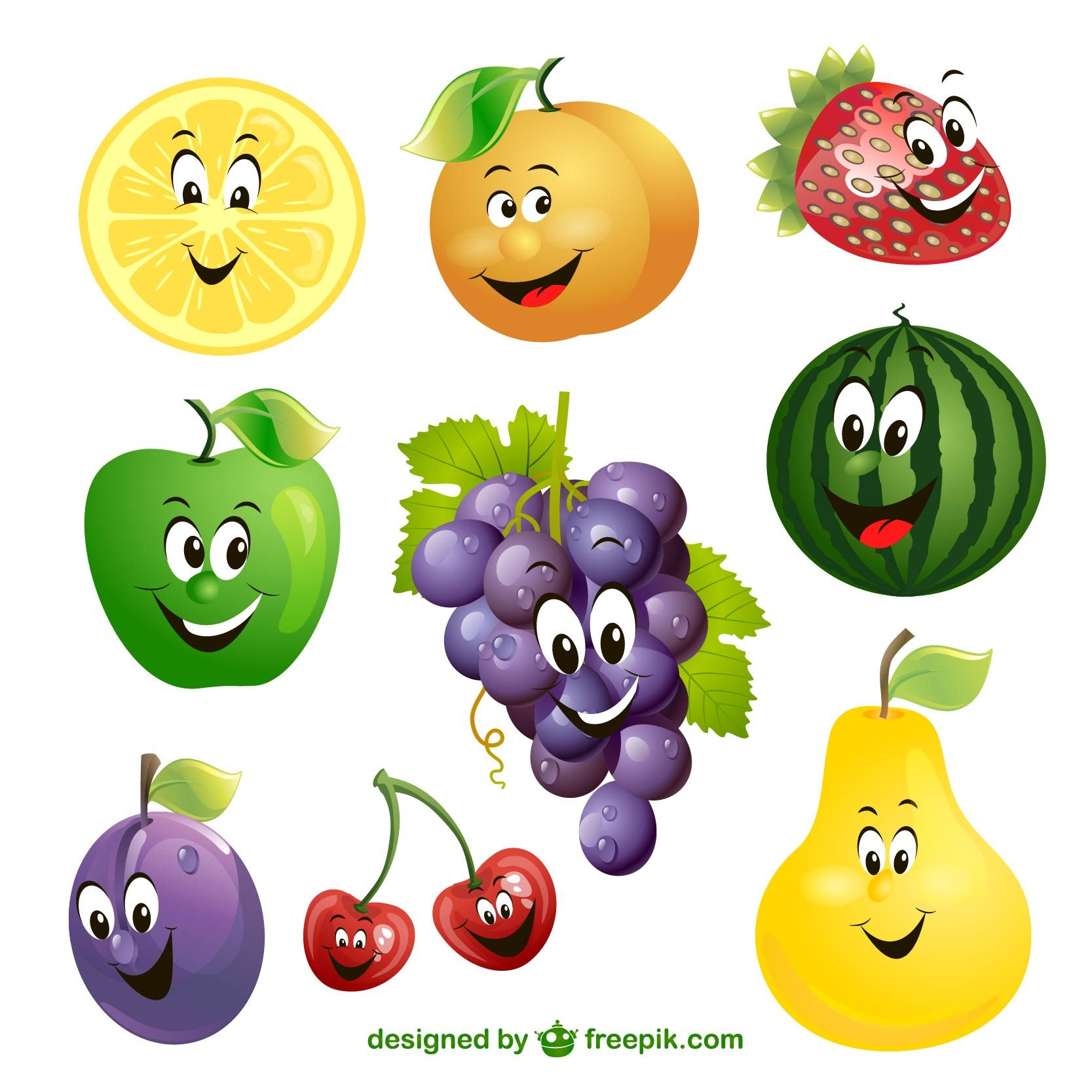 Fresh fruits and veggies pack an extra punch! Fruits and