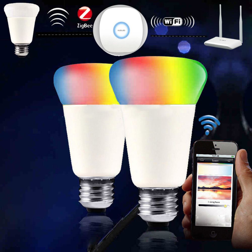 Find More Led Bulbs Tubes Information About Jiawen Zigbee Bulb Smart Bulb Wireless Bulb App Control Work With Zigbee Hub Free S Smart Bulb Zigbee Bulb