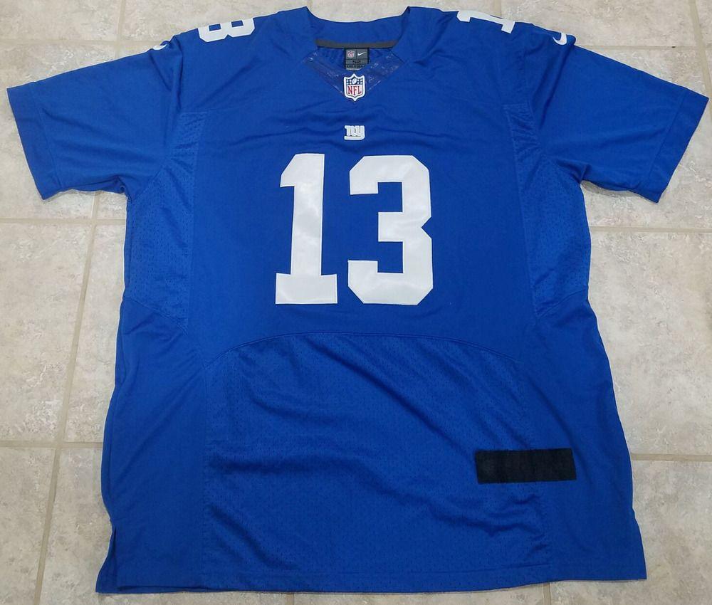 buy online 08a85 5aca1 Odell Beckham Jr Jersey Nike On Field New York Giants Sz 52 ...