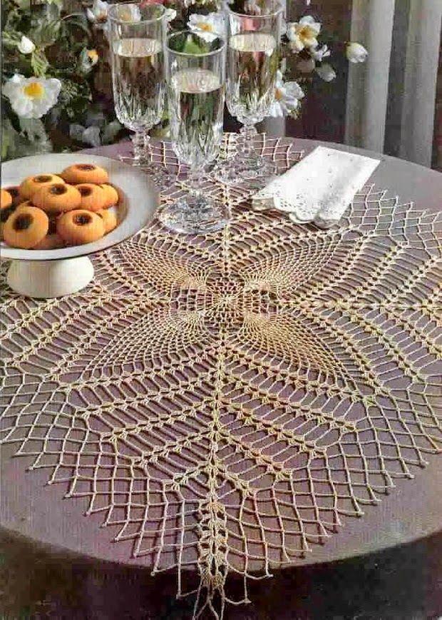Crochet Pattern Of Nice Lace Doily