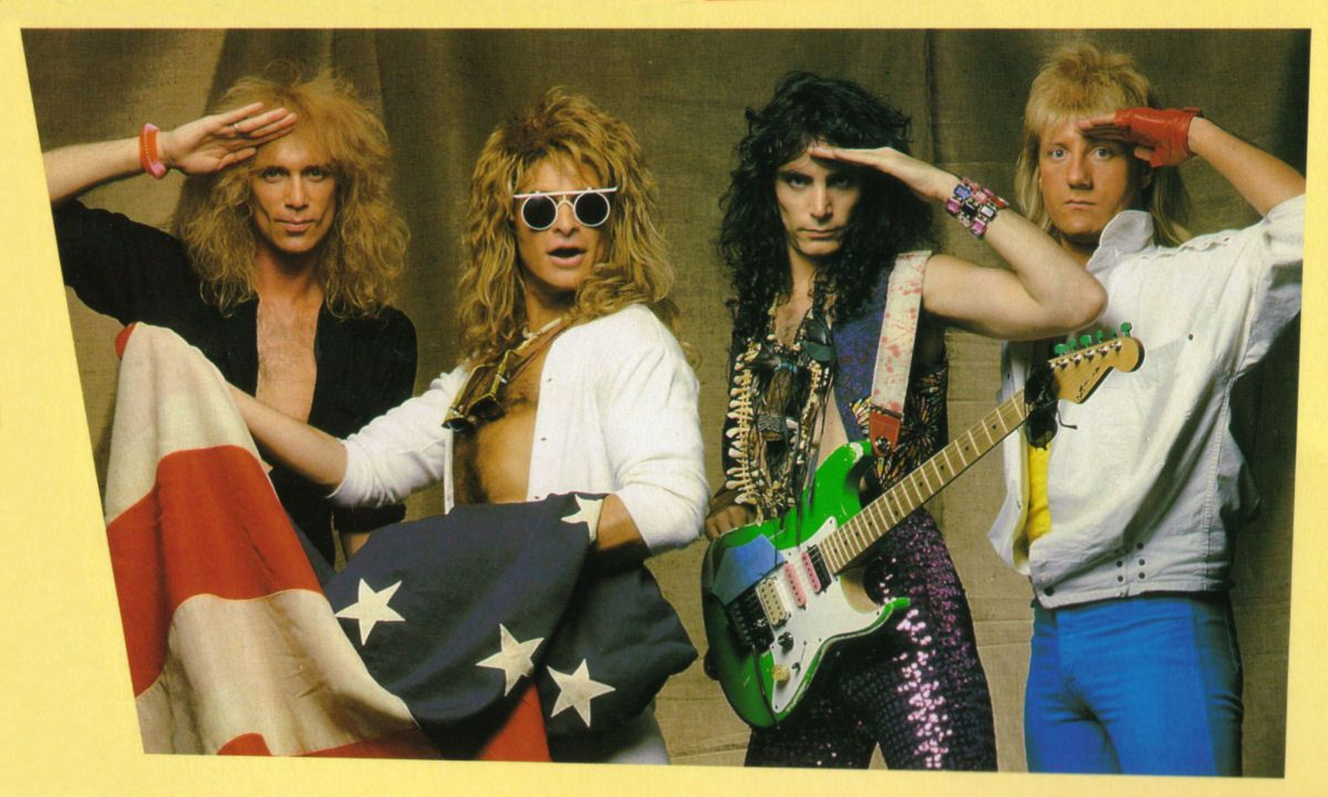 Dlr Band What A Band Billy Sheehan Dlr Steve Vai Greg Bissonette David Lee Roth Steve Vai David Lee
