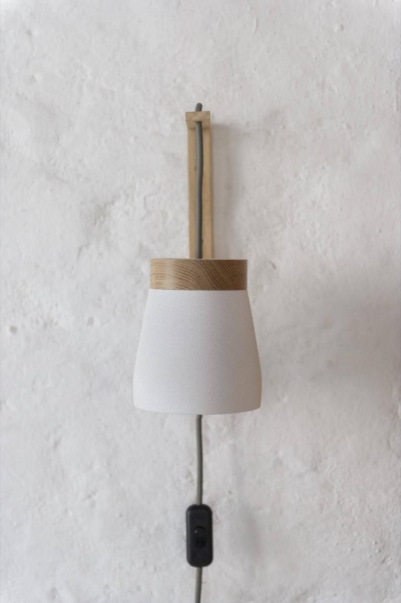 Plug In Wall Sconce Etsy Plug In Wall Sconce Sconces Wall Sconces
