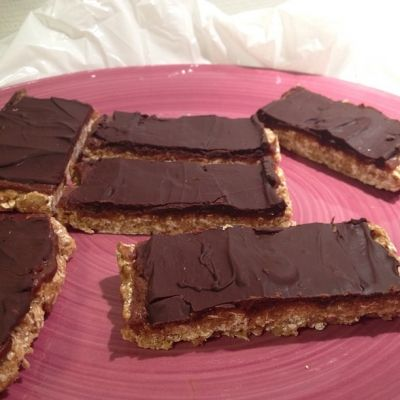 Ripped Recipes - Snickers Cakes! - Foodgasm, best I've ever made!!