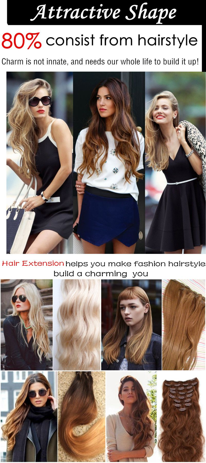 Hair Makes The Look Why Wait Get Your Hair Extension Now