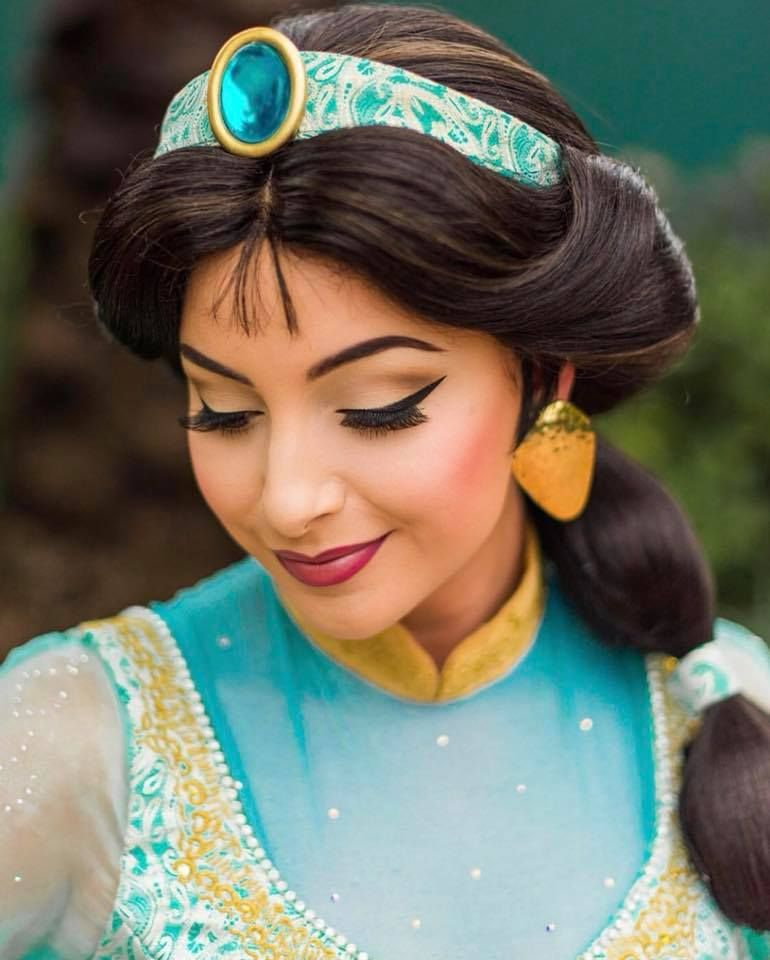 Pin By Wild Rich Kids On Wig Styling And Make Up Jasmine Makeup