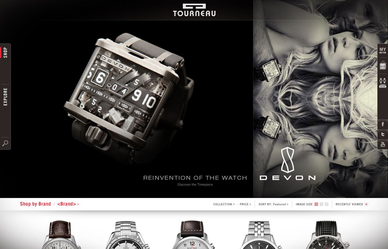 interactive - Devon for Tourneau