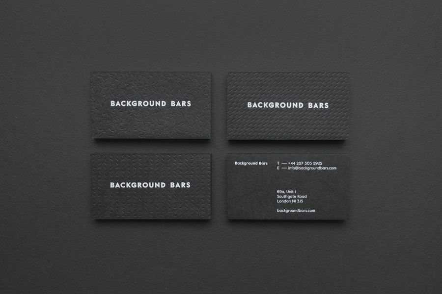 New Logo for Background Bars by Campbell Hay — BP&O   White ink ...