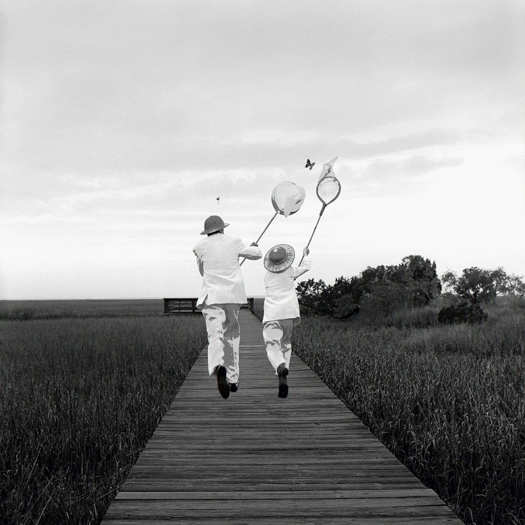 Rodney Smith | Gary and Henry Chasing Butterfly, (1996) | Available
