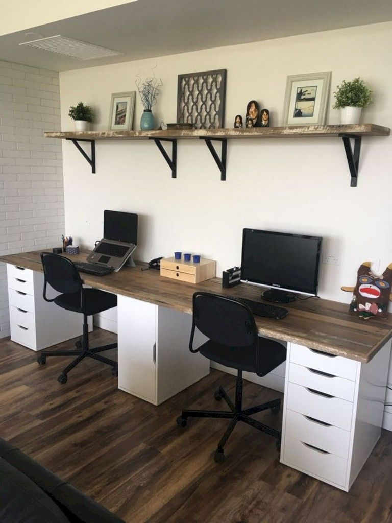 25 Stunning Farmhouse Desk For The Home Office Home Homeoffice Homeofficeideas Home Office Design Home Office Decor Home Office Desks