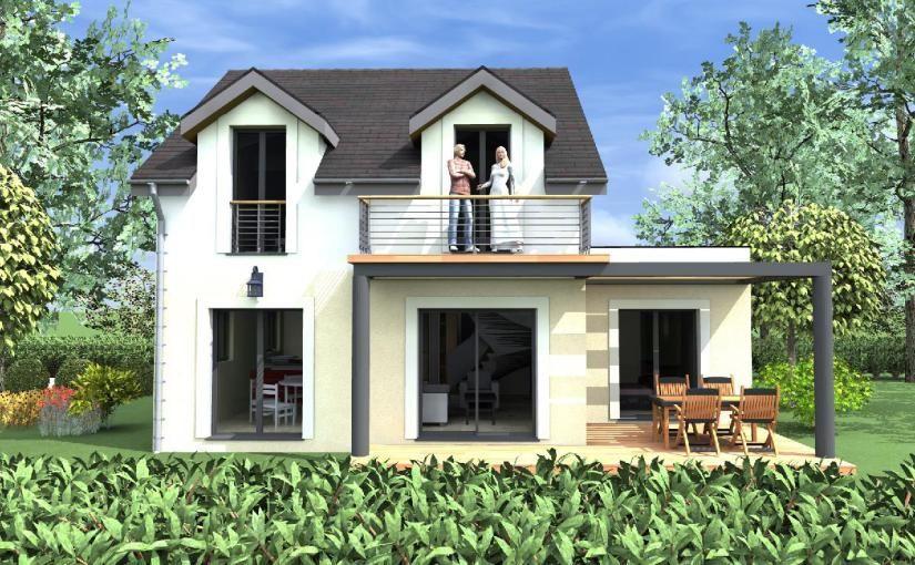 Contra fachada casa de 4 dormitorios y 109 metros for Dormitorio 9 metros cuadrados