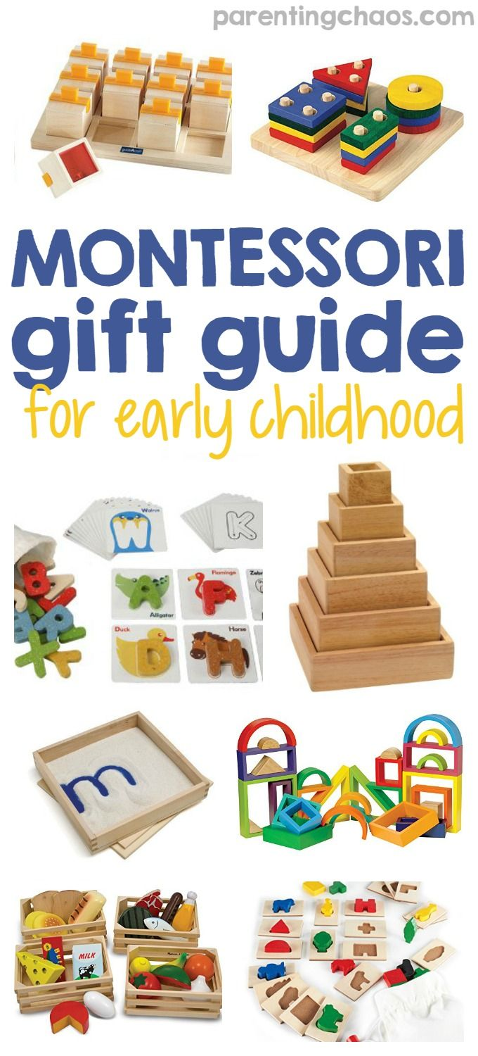 Montessori Gift Guide for Early Childhood