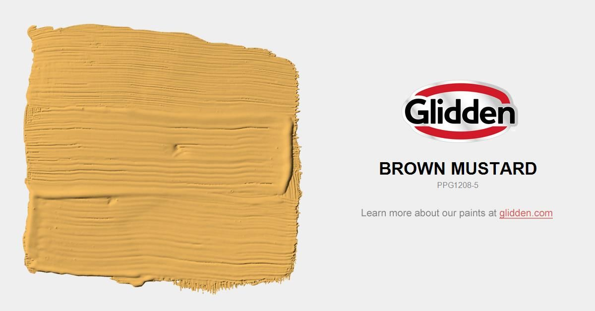 Brown Mustard Paint Color Glidden Paint Colors Glidden Paint Colors