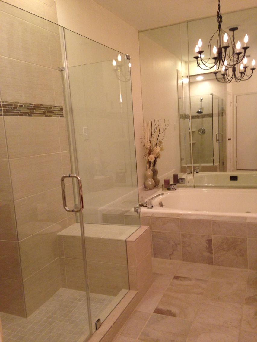 Shower install complete! | H & G | Pinterest