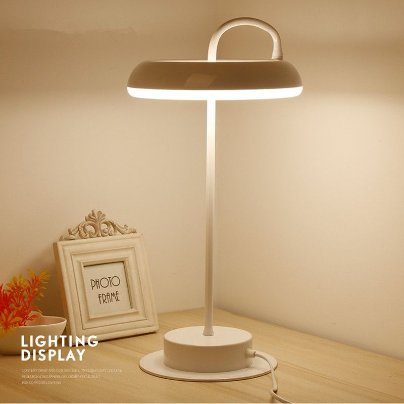Find more table lamps information about modern led table lamps for about modern led table lamps for bedroom living room beside desk lamp study reading lamp acrylichardware lampshade home lighting high quality table aloadofball Choice Image