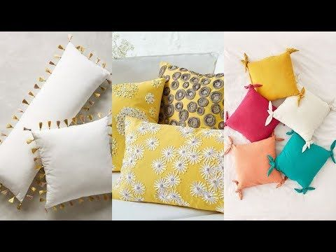 Pillow Cover Design Cushion Cover Design Ideas Home Decoration Youtube Cushion Cover Designs Pillow Cover Design Pillows