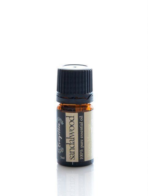 Sandalwood essential oil, 100% pure and natural, for aromatherapy 5ml. #Evergetikon