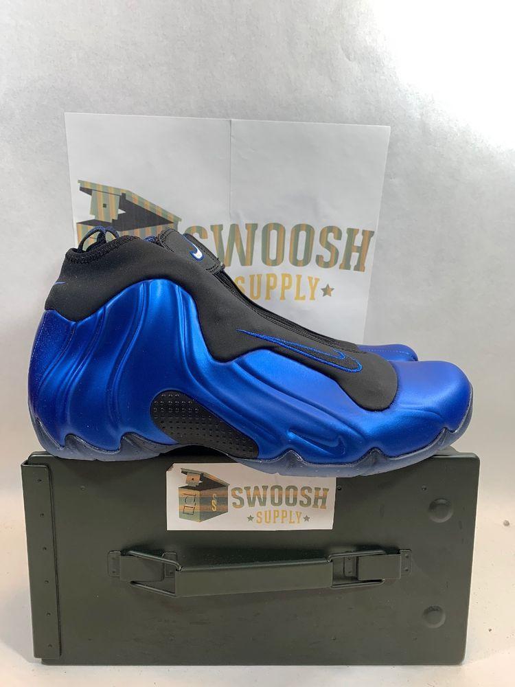 new concept 060d1 240b5 Nike Air Flightposite Mens AO9378-500 Dark Neon Royal Basketball Shoes Size  9  Nike  BasketballShoes