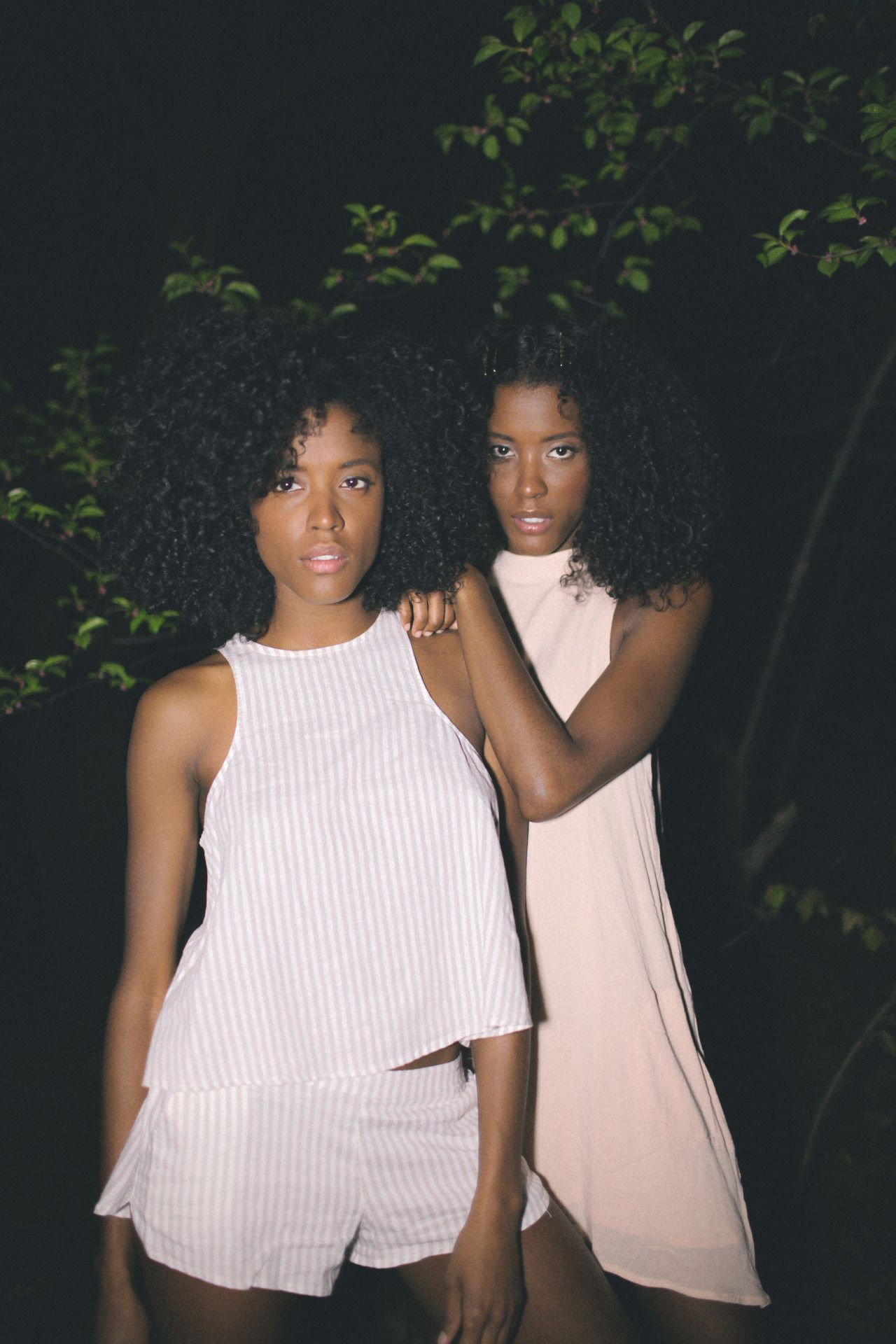 Sasha & Sable Boykin. Twins. curly hair. curly fro. afro curls. natural hair. curly girl.