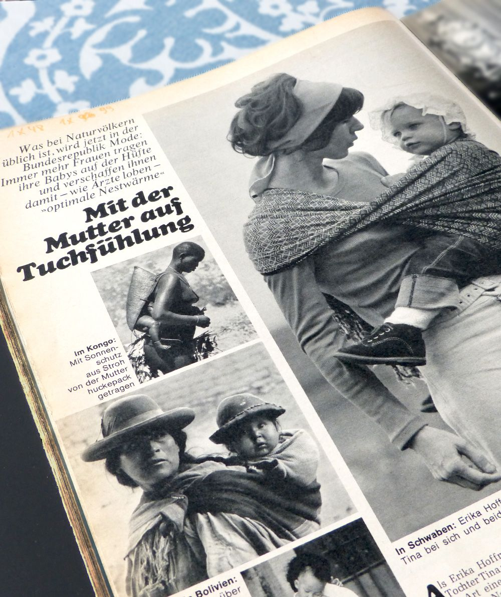 Didymos First In The German Magazin Stern When Babywearing Was Not