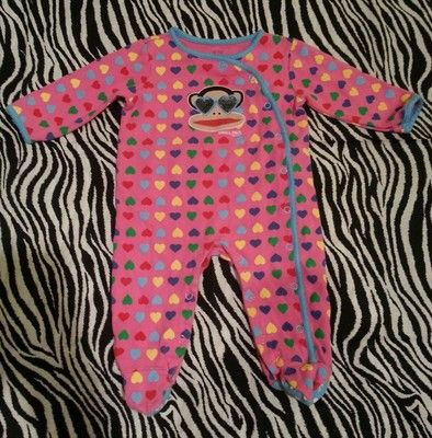 Helpful Paul Frank Small Paul Toddler One Piece 9m Baby & Toddler Clothing
