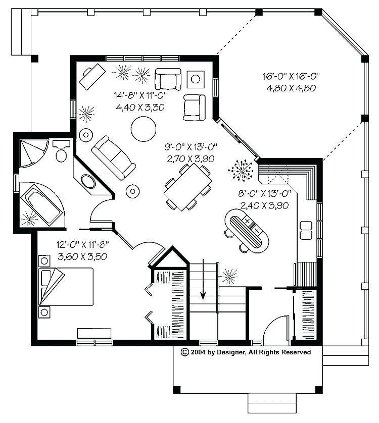 One Bedroom House Plans One Story Cottage House Plans Unique Simple E Story 2 Bedroom House Plans Luxury 1 House Plans Porch House Plans 1 Bedroom House Plans