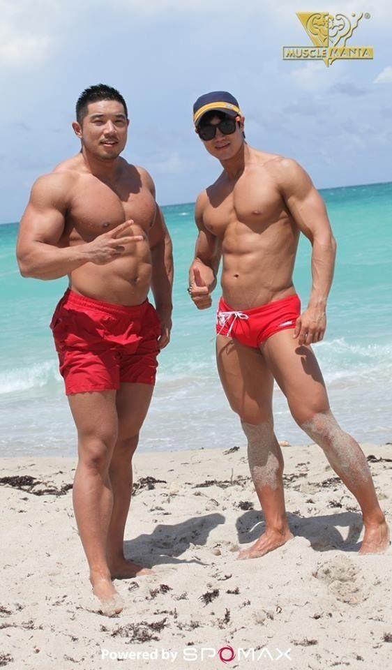 Asian gay bums
