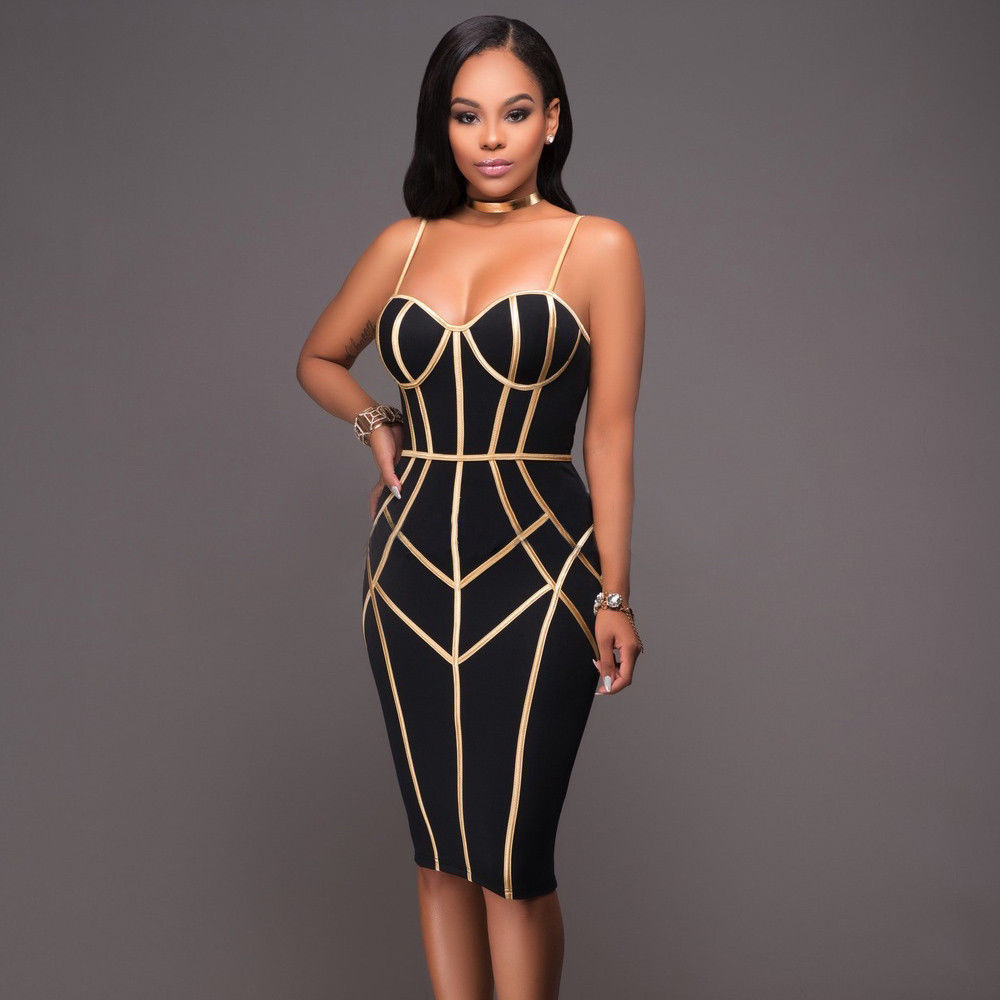 $11.77 - Women Evening Party Cocktail Pencil Midi Dress Slim ...