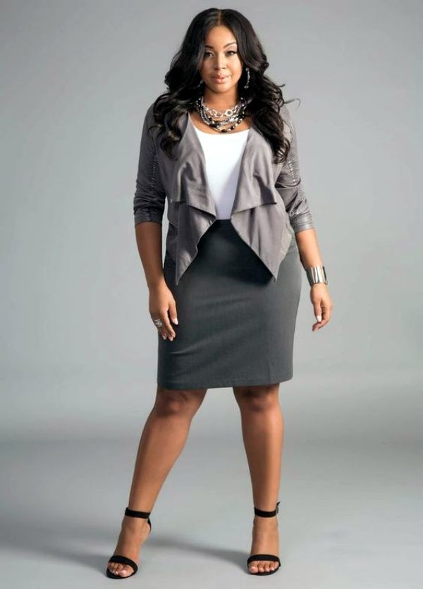 45 Catchy Work Outfit Ideas For Plus Size Women Fashion Enzyme