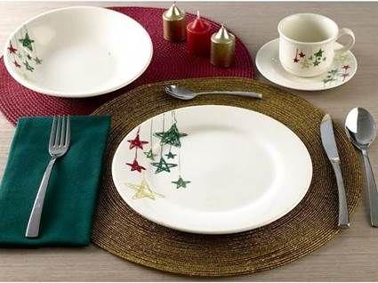 Vajilla navide a vajilla y adornos de navidad - Vajillas navidenas ...
