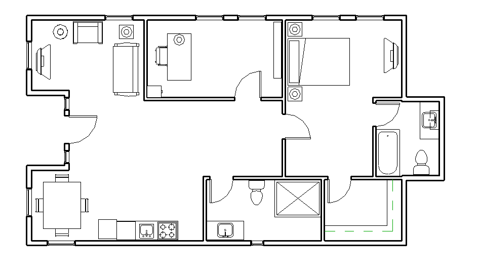 Shipping container home or house floor plans using 3 40 for 3 40 ft container home