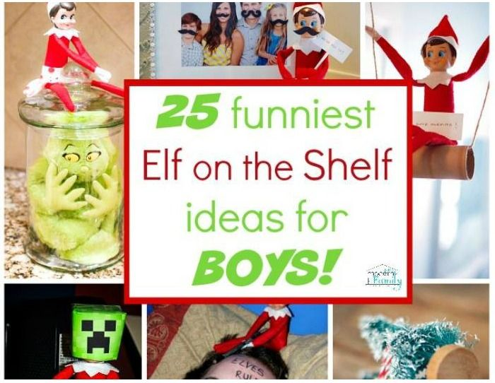 elf on the shelf xmas eve box