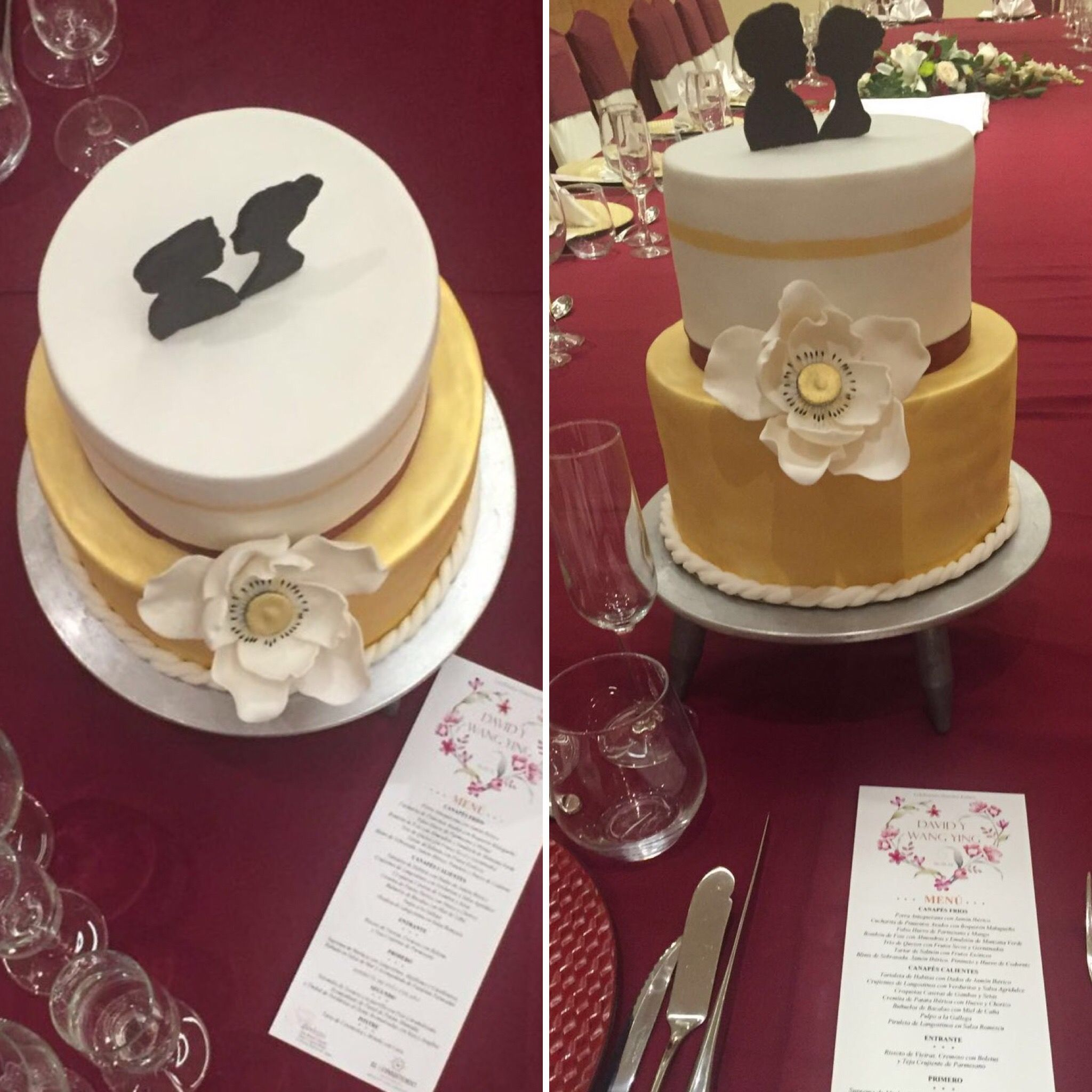 #cakedecor #fondant #malaga #eventos #bautizo #comunion #bodas #cumpleaños #tartaevento #tartasbonitas #reposteriacreativa #aniversario #bodasdeoro