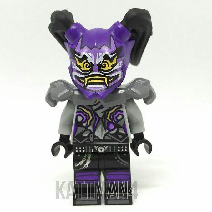 #NinjagoSonsOfGarmadon - Ultra Violet minifigure