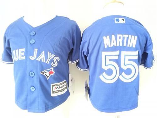 2e86518dd ... Toddler Toronto Blue Jays 55 Russell Martin Alternate Blue 2015 MLB  Cool Base Jersey Mens Majestic Toronto Blue Jays 20 Josh Donaldson  Authentic Royal ...