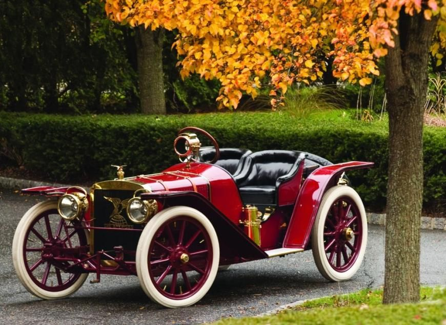 America\'s first sports car, the 1907 American Underslung Roadster ...