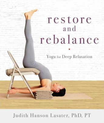 pinclare on bookshelf  relaxing yoga yoga help hard