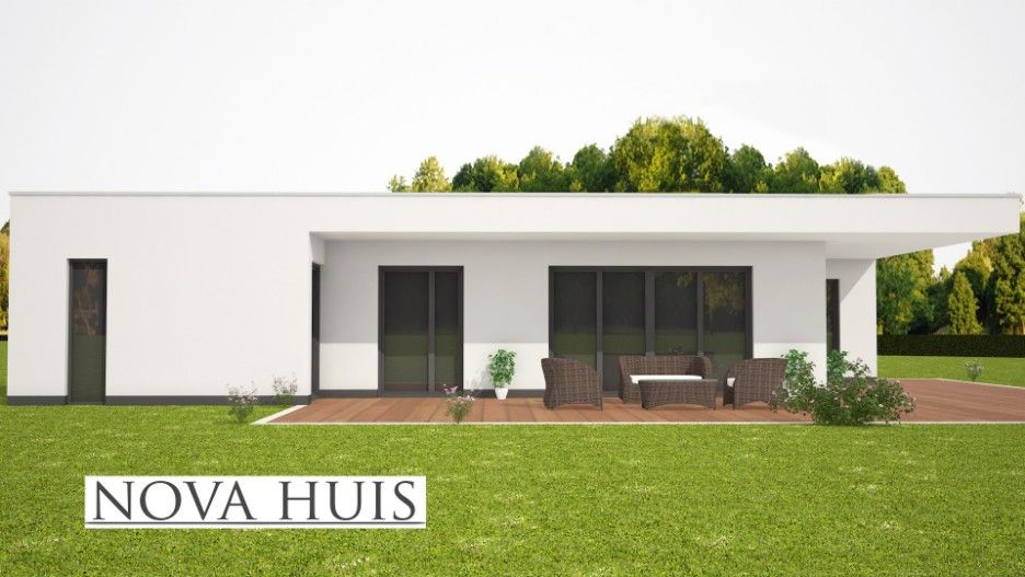 Nova huis levensloopbestendige gelijkvloerse bungalow
