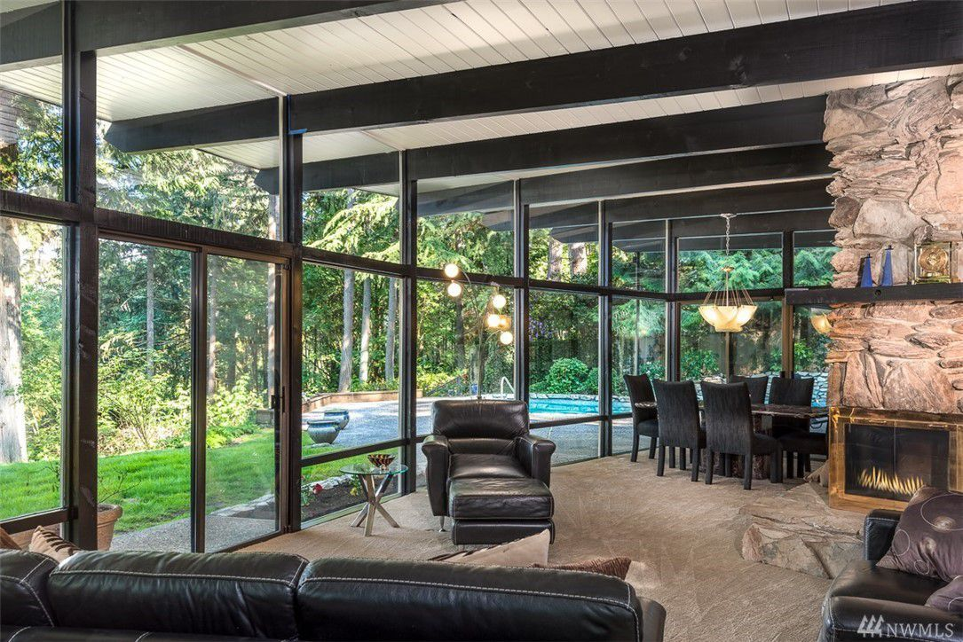 15 midcentury modern homes for sale in the seattle area right now rh pinterest com