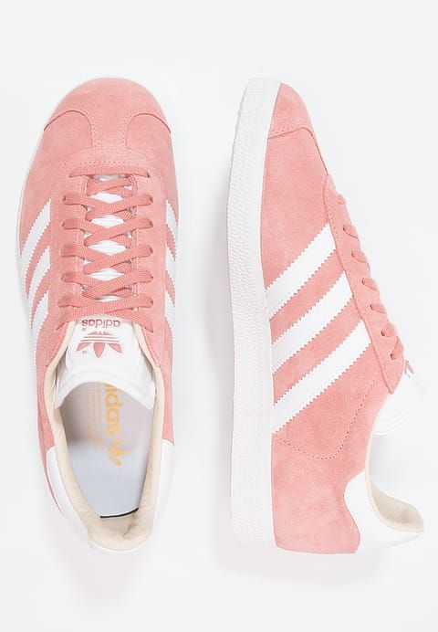 adidas Originals GAZELLE - Trainers - ash pearl/footwear white kaVYENDXD