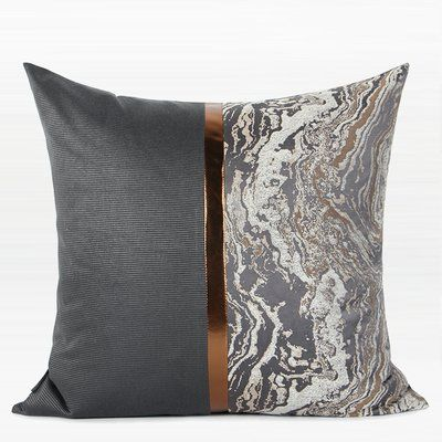 Mercer41 Hoyer Two Area Throw Pillow Throw Pillows Decorative Pillows Pillows
